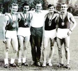 Die erfolgreichen Sprintstaffeln der 70er Jahre